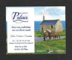 Calendrier De Poche 2020.   Le Palais.   Belle-Ile-en-Mer.   Chevaux. - Kalenders