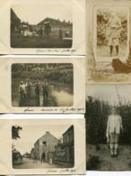 28 Eure 14 Cartes Photos Militaires  Correspondance De Schmit Interprette  Au Camp Des Prisonniers Frais D 'envoi Offert - Frankreich