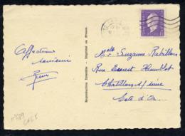 MAURY N° 689 - DULAC 1fr SEUL S/CPI 5 MOTS DU 17/7/1945 - 1921-1960: Periodo Moderno