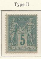 PIA - FRA - 1898-1900 :  Gruppo Allegorico - Pace E Commercio - II Tipo - (Yv 106b) - 1876-1898 Sage (Tipo II)
