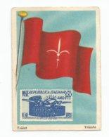 Triëst - Trieste (Vlaggen En Postzegels / Drapeaux Et Timbres) - Kaufmanns- Und Zigarettenbilder