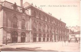 DIJON (21) Ecole Nationale Des Beaux Arts Et Musée (au Dos Pub Moutarde De Dijon F. FAUROY , Velars) - Dijon