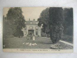 ORSAY - Château De Mme Meignen (animée Et Avec Un âne) - Orsay