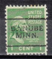 USA Precancel Vorausentwertung Preo, Locals Minnesota, Danube 701 - Vereinigte Staaten