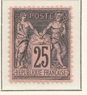 PIA - FRA - 1877-1800 :  Gruppo Allegorico - Pace E Commercio - II Tipo - (Yv 91) - 1876-1898 Sage (Tipo II)