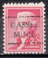 USA Precancel Vorausentwertung Preo, Locals Minnesota, Dassel 716 - Vereinigte Staaten