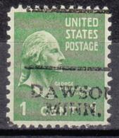 USA Precancel Vorausentwertung Preo, Locals Minnesota, Dawson 701 - Vereinigte Staaten