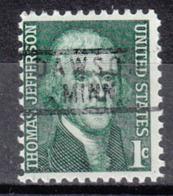 USA Precancel Vorausentwertung Preo, Locals Minnesota, Dawson 801 - Vereinigte Staaten