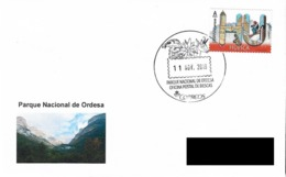 SPAIN. POSTMARK. NATIONAL PARK OF ORDESA. BIESCAS (HUESCA). 2019 - España
