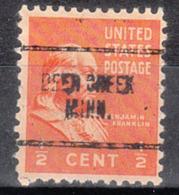 USA Precancel Vorausentwertung Preo, Locals Minnesota, Der Creek 704 - Vereinigte Staaten