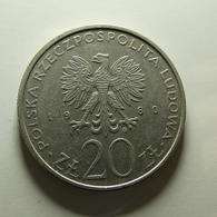 Poland 20 Zlotych 1980 - Polen