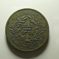 Tunisia 2 Francs 1945 - Tunisia