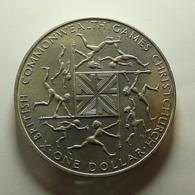 New Zealand 1 Dollar 1974 - Nueva Zelanda