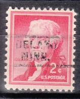 USA Precancel Vorausentwertung Preo, Locals Minnesota, Delano 729 - Vereinigte Staaten