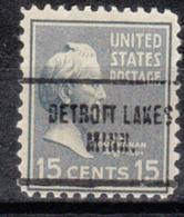 USA Precancel Vorausentwertung Preo, Locals Minnesota, Detroit Lakes 704 - Vereinigte Staaten