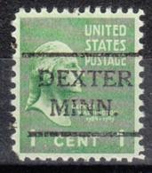 USA Precancel Vorausentwertung Preo, Locals Minnesota, Dexter 716 - Vereinigte Staaten