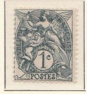 "PIA - FRA - 1900-1924 :  ""Blanc""  - (Yv 107) - 1900-29 Blanc"