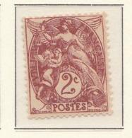 "PIA - FRA - 1900-1924 :  ""Blanc""  - (Yv 108) - 1900-29 Blanc"