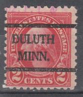 USA Precancel Vorausentwertung Preo, Bureauc Minnesota, Duluth 583-42 - Vereinigte Staaten