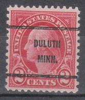 USA Precancel Vorausentwertung Preo, Bureauc Minnesota, Duluth 634-61 - Vereinigte Staaten