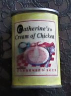 * MAGNET * SMALL PLASTIC TIN FOR CREAM OF CHICKEN SOUP * - Reklame