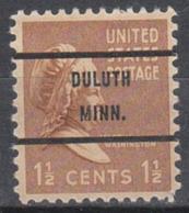 USA Precancel Vorausentwertung Preo, Bureauc Minnesota, Duluth 805-71 - Vereinigte Staaten