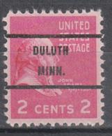 USA Precancel Vorausentwertung Preo, Bureauc Minnesota, Duluth 806-71 - Vereinigte Staaten