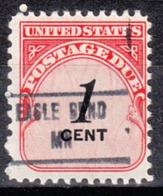 USA Precancel Vorausentwertung Preo, Locals Minnesota, Eagle Bend 853 - Vereinigte Staaten