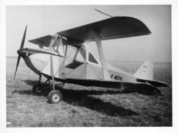 INFORMATIONS AÉRONAUTIQUES PHOTO - PROTOTYPE CIVIL CHAPEAU&BLANCHET - F-WDVL - CB 10 N°1 - Aviation