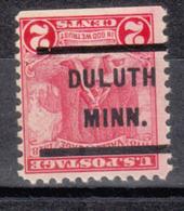 USA Precancel Vorausentwertung Preo, Locals Minnesota, Duluth 232 - Vereinigte Staaten
