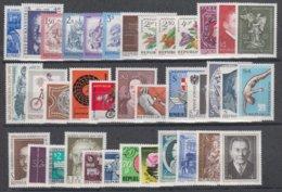1974**  Oostenrijk - Autriche - Austria  (sans Charn., MNH, Postfrish) Complete ) Mi1437/1473 (37v) - Österreich
