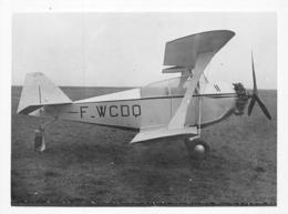 """INFORMATIONS AÉRONAUTIQUES PHOTO - PROTOTYPE CIVIL """" LE LÉVRIER """" CHAPEAU&BLANCHET - F-WCDQ - JC-01 - Aviation"""
