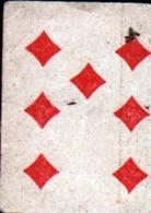 Petite Carte à Jouer: 3,7 X 5,0 Cm, 7 De Carreau - Playing Cards