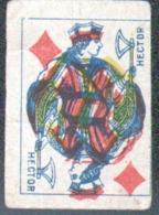 Petite Carte à Jouer: 3,7 X 5,0 Cm, Valet De Carreau - Autres