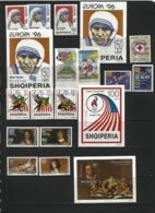 ALBANIA 1996 Year Set. 11 Issues ( 25 St.+ 4 M/s ) - Albania