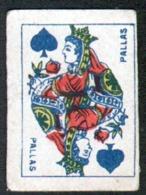 Petite Carte à Jouer: 3,7 X 5,0 Cm, Daùe De Pique, Pallas - Playing Cards