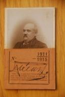 Carte Transport - Chemin De Fer Sncf De L'etat Francais Militaires 1911 TRES RARE - Historische Documenten