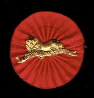 INSIGNE LES PREVOYANTS DE L AVENIR 1880 SOCIETE CIVILE DE RETRAITES LION COUCHE FABRICANT CORDEAU SAINT PLACIDE A PARIS - Organizaciones