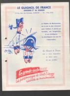 (jouets) Paris 20e: Rue Des Pyrénées: Catalogue LE GUIGNOL DE FRANCE  1957 (CAT 1546) - Publicités