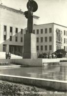 "Roma (Lazio) Città Universitaria ""La Sapienza"", Statua ""Minerva"" Piazzale E Fontana, University City, Minerva Statue - Enseignement, Ecoles Et Universités"