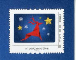 """FRANCE - PERSONNALISÉS - LOGO """"NOEL"""" (ENTIER) -  N° Yvert  (PHILAPOSTE) OBLI;  LETTRE INTERNATIONAL 250g  NON OBLITERE - France"""