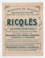 - CHROMO RICQLÈS - LES CHANSONS (2e Série) - Fanfan La Tulipe - Dessin H. Gerbault - - Trade Cards