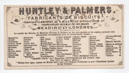 - CHROMO HUNTLEY & PALMERS - FABRICANTS DE BISCUITS - TURCS - - Altri