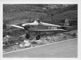 """INFORMATIONS AERONAUTIQUES PHOTO - D31 BAPTISÉ """"TURBULENT"""" - CONSTRUCTEUR ROGER DRUINE - MONOPLACE  DE 1953 - Aviation"""