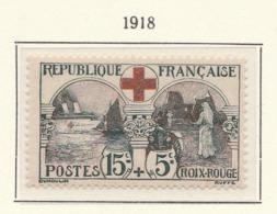 PIA - FRA -1918 :  A Favore Della Croce Rossa   - (Yv 156) - Primo Soccorso