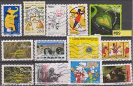 #09 FRANCE Francia Frankreich França - Lot De Timbres Oblitérés Used Stamps - Unclassified