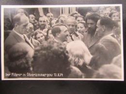 Postkarte Propaganda Hitler Oberammergau 1934 - Allemagne