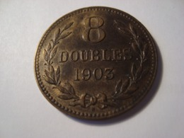 MONNAIE GUERNESEY / 8 DOUBLES 1903 - Guernsey