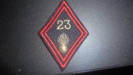 Insigne  Losange M45 Du 23 Regiment D Infanterie - Patches