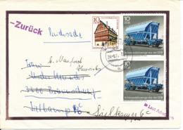 Germany DDR Condolence Cover Returned To Sender 24-6-1979 - [6] Democratic Republic